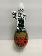 "Dead Guy Rogue Skeleton Never Used Excellent 10"" Draft Beer Keg Bar Tap Handle"
