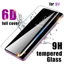 6D Full Cover Tempered Glass Screen Protector for Samsung Galaxy S9 - Clear