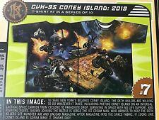 DETH KILLERS of Bushwick 2000 Vol. 1 #7 T-shirt M Des Kiraz CVH-95 Coney Island