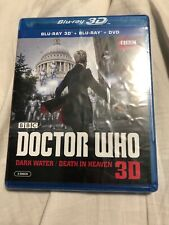 Doctor Who Dark Water / Death In Heaven Blu-ray 3D + Blu-ray + Dvd 2-Disc Set