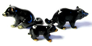 Hand Painted Miniature Set/3 Tasmanian Devil figurine