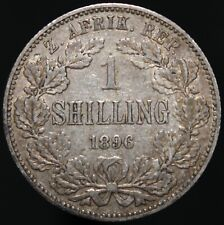 More details for 1896 | south africa 1 shilling | silver | coins | km coins