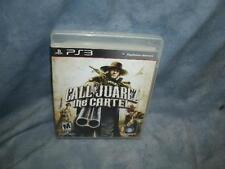 Call of Juarez: The Cartel (Sony PlayStation 3, 2011)