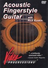 Acoustic Fingerstyle Guitar Instructional Guitar  DVD NEW 000320675