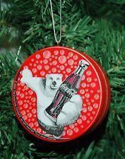 Coke, Coca Cola Polar Bear Christmas Ornament
