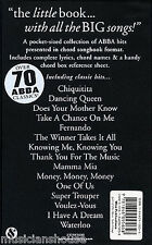 The Little Black Songbook ABBA Learn to Play Piano Guitar Lyrics Music Book