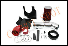 02-06 Escalade/Avalanche 1500 V8 5.3L/6.0L Heat Shield Cold Air Intake Kit -RED