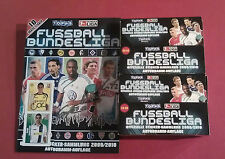 TOPPS Bundesliga 09 / 10 - 2 x Display + Album Leeralbum 200 Tüten 1000 Sticker