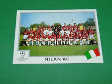 N°290 EQUIPE TEAM MILAN AC ITALIA PANINI FOOTBALL CHAMPIONS LEAGUE 1999-2000