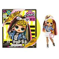 LOL Surprise OMG Remix Pop B.B. Fashion Doll, Plays Music, with Extra Outfit and