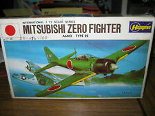 HASAGAWA # JS-076 1:72 MITSUBISHI A6M3 TYPE 22 ZERO FIGHTER MODEL KIT