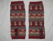 Ugg Leg Warmers - Koala, Kangaroo Pattern - Knitted