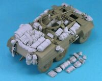1/35 Resin M20 Armored Utility Car Stowage Set Unpainted QJ073