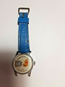 Vtg Winnie the Pooh Bradley Digital Walt Disney Jump Hour Direct Read watch NR
