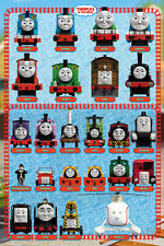Thomas and Friends - Characters Poster Print, 24x36