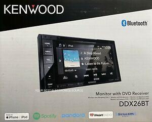 """NEW Kenwood DDX26BT 6.2"""" Touch Screen, 2-DIN, CD/DVD w/ Bluetooth"""