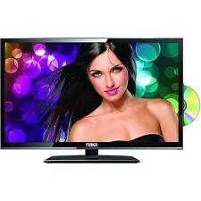 """Naxa NTD-1956 19"""" Class LED HD TV and DVD/Media Player AC/DC USB SD HDMI Remote"""