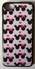 Disney Mickey & Minnie Mouse Print Phone Case For iPhone 7. Hard Plastic. Xmas