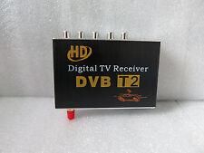 HD Mobile Car DVB-T2 H.264, MPEG-4 MPEG-2  CVBS Digital Tv Receiver Tuner Box