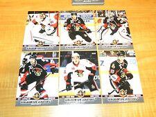 2012-13 Binghamton Senators AHL Team Set - Hoffman Bishop Prince Stone Zibanejad