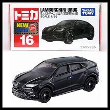 TOMICA 16 LAMBORGHINI URUS 1/66 2019 FEB NEW MODEL TOMY First edition BLACK