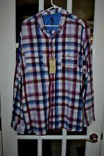 Ocean & Coast Men's Casual L/S Shirt Multi Color Size XXL New With Tags NWT