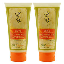 CHI Organics Olive Nutrient Therapy Treatment Paste 6 fl oz (Pack of 2)
