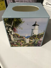 4 aided lighthouse tissue box cover