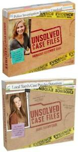 Unsolved Case Files Murder Mystery Problem Solving Game