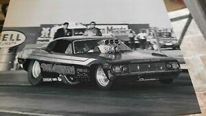 8X10 DON GARLITS FUNNY CAR AT BAKERSFIELD   NHRA  DRAG RACING PHOTO