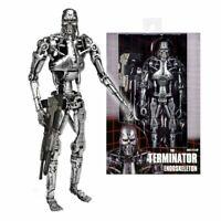 """7""""  Endoskeleton T-800  McFarlane Movie Maniacs with Plasma Rifle Action Figure"""