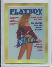 Playboy Chromium Cover Cards Edition 3 Refractor Card # R297