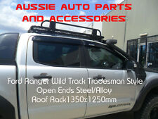 Open ends Tradesman Style Steel Roof Rack 1350x1250mm for Ford Ranger WildTrak