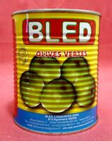 Oliven Grün mit Stein Marokko Feinkost - 850 g - Antipasti vegetarisch