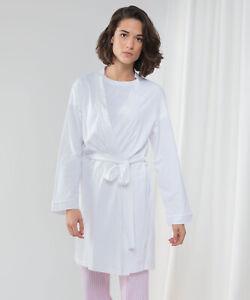 Women's Wrap Robe White