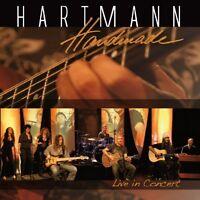 HARTMANN - HANDMADE-LIVE IN CONCERT   CD+DVD NEW+
