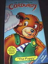 Adventures of Corduroy The - The Puppy (VHS, 1996) SCARCE