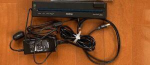 Brother PJ-673 PocketJet A4 Mobile Printer Set Black printer Pocket Jet USED