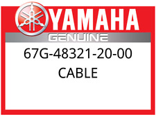 New Yamaha Cable 67G483212000, New Genuine OEM Part 67G-48321-20-00