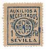 Sello Local Guerra Civil Sevilla -Cat. Sofima 30 b.  ORD:991