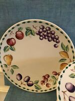 "Farberware China Orchard 3060 -10-3/4"" DINNER PLATE Used"
