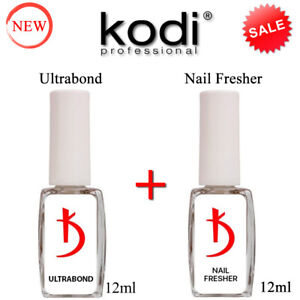 BEST SET! Ultrabond 12ml. + Nail Fresher 12ml. NEW! Kodi Professional Gel LED/UV