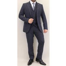 Cappotti e giacche da uomo blu lana , Taglia 46