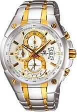 Casio Edifice Chronograph Silver Dial Two Tone Men's Watch EF-555SG-7AVDF