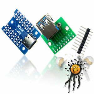USB 3.0 to Dip USB C USB 3.1 Adapter Break Out Modul USB3 PCB Adapter Arduino