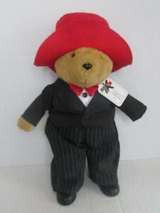 """Limited Edition Millennium Paddington Bear with Tags 18"""" Tuxedo Red Hat Boots"""