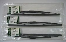 "Land Rover Defender 90 110 Windshield and Rear Wiper Blades 13"" Set of 3 Genuine"