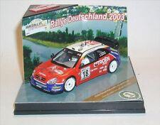 Citroen Xsara WRC no. 18 S.LOEB / D. Elena Germany Rally 2003