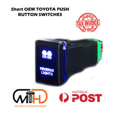 TOYOTA PUSH SWITCH LED Reverse CAR PRADO HILUX LANDCRUISER Modern Rav4 camry