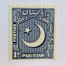 PAKISTAN Scott #47 * MH , 1 As postage stamp
